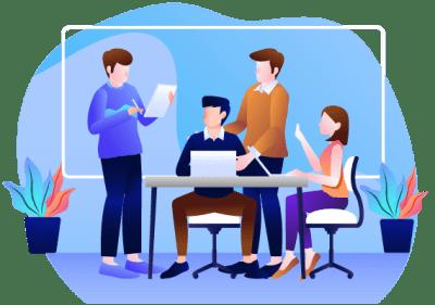 Команда по разработке сайтов